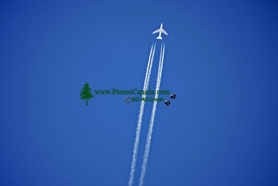 Jet over The Rockies, British Columbia, Canada CM11-02