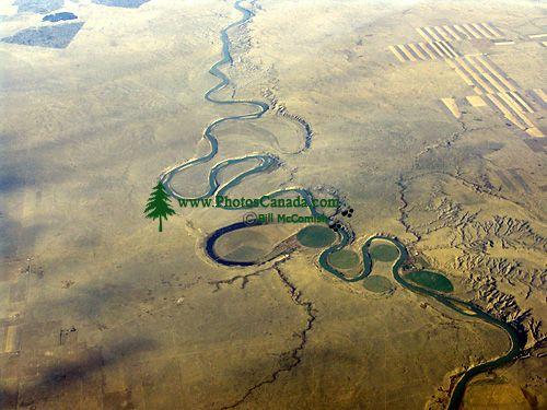 Aerial Saskatchewan Prairies, Canada 01