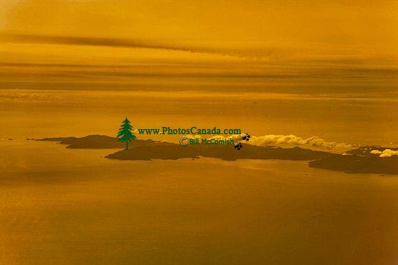 Gwaii Haanas National Park Reserve Aerial, British Columbia, Canada CM11-02