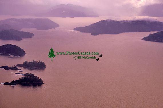 Gwaii Haanas National Park Reserve Aerial, British Columbia, Canada CM11-09