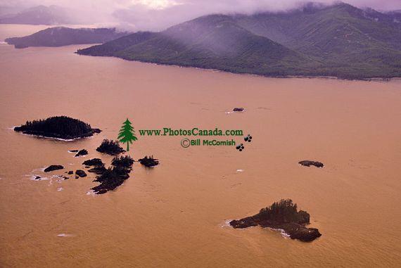 Gwaii Haanas National Park Reserve Aerial, British Columbia, Canada CM11-08