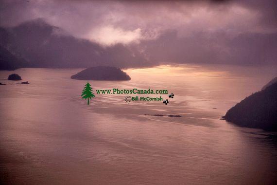 Gwaii Haanas National Park Reserve Aerial, British Columbia, Canada CM11-07