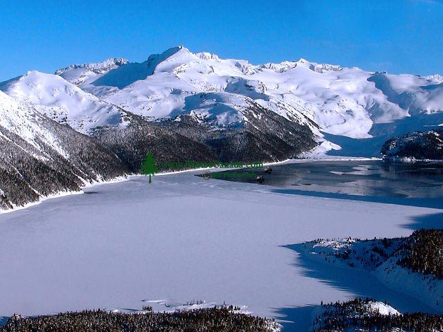 Aerial Squamish to Whistler, Garibaldi Lake, British Columbia, Canada 09