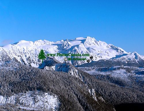 Aerial Squamish to Whistler, Coast Mountains, British Columbia, Canada 02