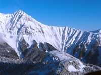 Aerial Squamish to Whistler, Mount Garibaldi, Brohm Ridge, British Columbia, Canada 08