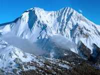 Aerial Squamish to Whistler, Mount Garibaldi, British Columbia, Canada 09
