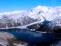 Aerial Squamish to Whistler, Garibaldi lake, British Columbia, Canada 17