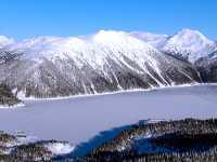 Aerial Squamish to Whistler, Garibaldi Lake, British Columbia, Canada 19