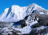 Aerial Squamish to Whistler, Mount Garibaldi, British Columbia, Canada 13