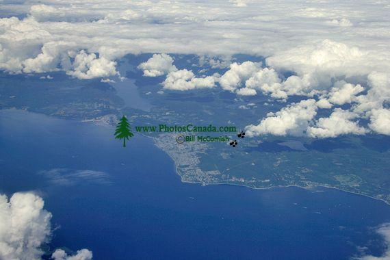 Sechelt, Sunshine Coast, Aerial, British Columbia, Canada CM11-06