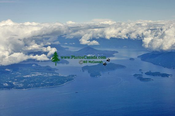 Sunshine Coast Aerial, British Columbia, Canada CM11-03