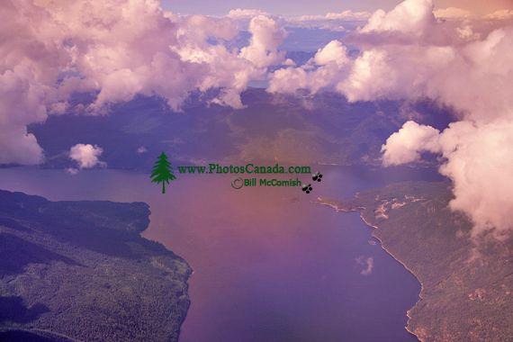Vancouver Island Aerial, British Columbia, Canada CM11-02