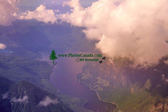 Vancouver Island Aerial, British Columbia, Canada CM11-01