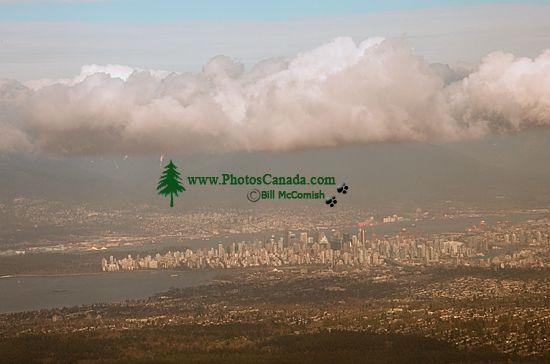 Aerial Vancouver, North Shore Mountains, British Columbia, Canada CM11-06