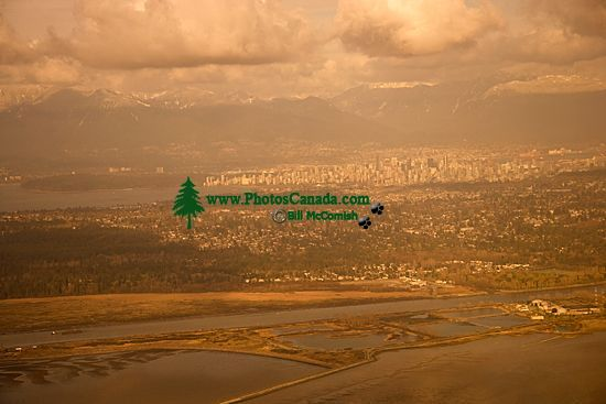 Aerial Vancouver, North Shore Mountains, British Columbia, Canada CM11-01