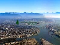 Highlight for Album: Aerial Photos Vancouver and Region, British Columbia Stock Photos