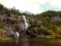 Agawa Canyon, Bridal Veil Falls, Ontario, Canada 09