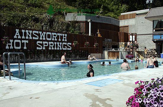 Ainsworth Hot Springs, Nelson Region, British Columbia, Canada CM11-001