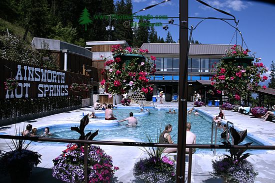Ainsworth Hot Springs, Nelson Region, British Columbia, Canada CM11-003