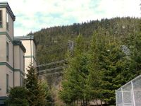 Highlight for Album: Power Lines impact at Alta Lake Road Whistler