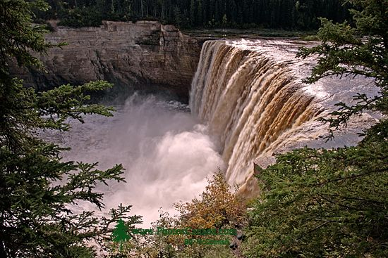 Alexander Falls, Northwest Territories, September 2009, CM11-01