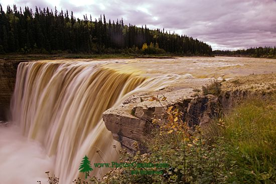Alexander Falls, Northwest Territories, September 2009, CM11-04