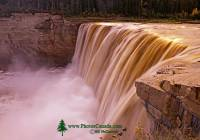 Highlight for Album: Alexandra Falls Photos, September 2009, Northwest Territories Stock Photos
