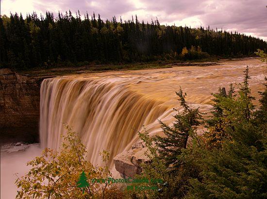 Alexander Falls, Northwest Territories, September 2009, CM11-06