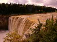 Alexander Falls, Northwest Territories, September 2009, CM11-06