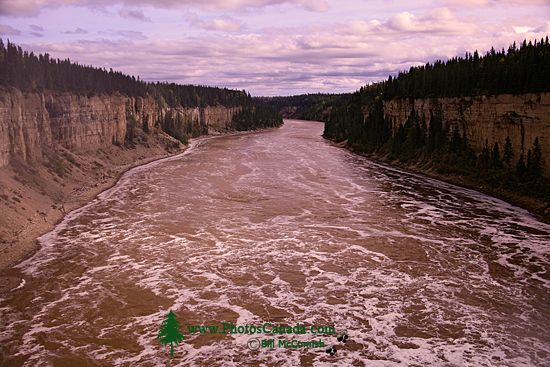 Hay River, Below Alexander Falls, Northwest Territories, September 2009, CM11-09