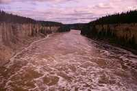 Hay River, Below Alexander Falls, Northwest Territories, September 2009, CM11-09