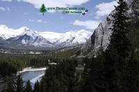 Highlight for Album: Banff Town Scenery, Banff National Park, Alberta - Canadian National Park Stock photos