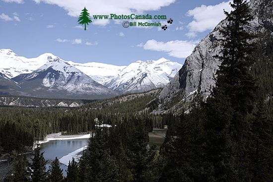 Scenery around town of Banff, May 2011, Banff National Park, Alberta, Canada CM11-002