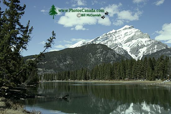 Scenery around town of Banff, May 2011, Banff National Park, Alberta, Canada CM11-006
