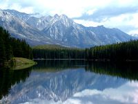 Johnson Lake, Banff National Park, Alberta, Canada 14