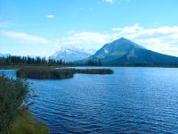 Vermilion Lakes, Mount Rundle, Banff National Park, Alberta, Canada 07
