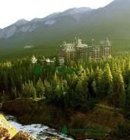 Highlight for Album: Banff Springs Hotel Photos, Banff National Park of Canada Photos, Alberta Stock Photos