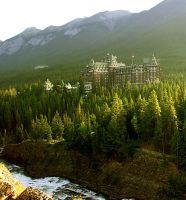 Banff Springs Hotel, Banff National Park, Alberta, Canada 01