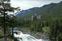 Banff Springs Hotel, Banff National Park, Alberta, Canada CM11-14