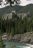 Banff Springs Hotel, Banff National Park, Alberta, Canada CM11-16