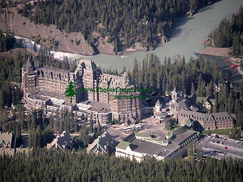 Banff Springs Hotel, Banff National Park, Alberta, Canada CM11-04