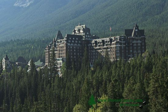 Banff Springs Hotel, Banff National Park, Alberta, CMX-002