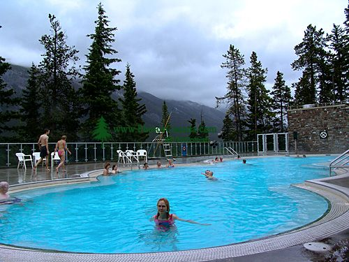 Banff Hot Springs, Banff National Park, Alberta, Canada 06