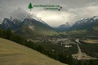 Highlight for Album: Town Of Banff, Banff National Park, Alberta, Canada - Canadian National Park Stock Photos
