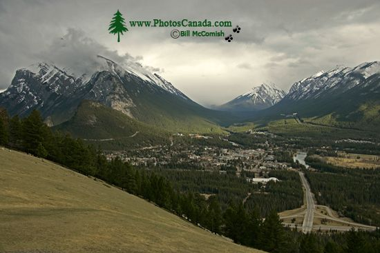 Town of Banff, Banff National Park, Alberta, Canada CM11-02