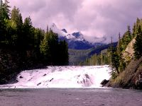 Bow River Falls, Banff National Park, Alberta, Canada 08
