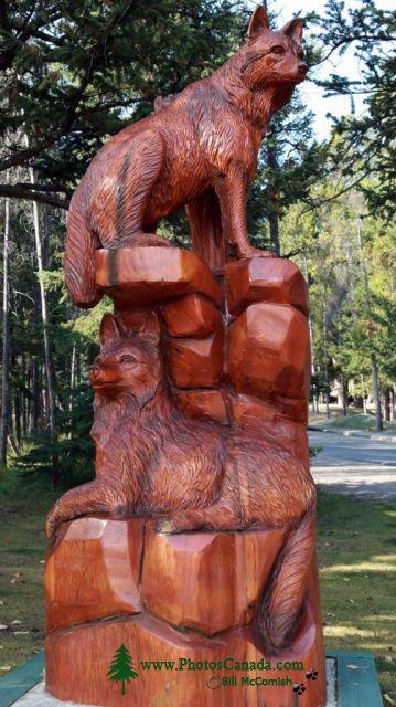 Pete Ryan Carving, Town of Banff, Alberta, Canada CMX-004
