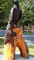 Pete Ryan Carving, Town of Banff, Alberta, Canada CMX-007