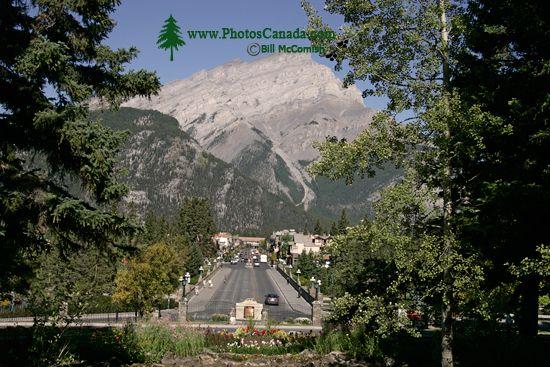 Town of Banff, Banff National Park, Alberta, Canada CM11-04