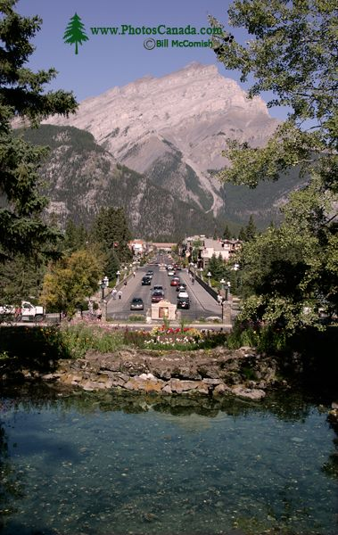 Town of Banff, Banff National Park, Alberta, Canada CM11-05